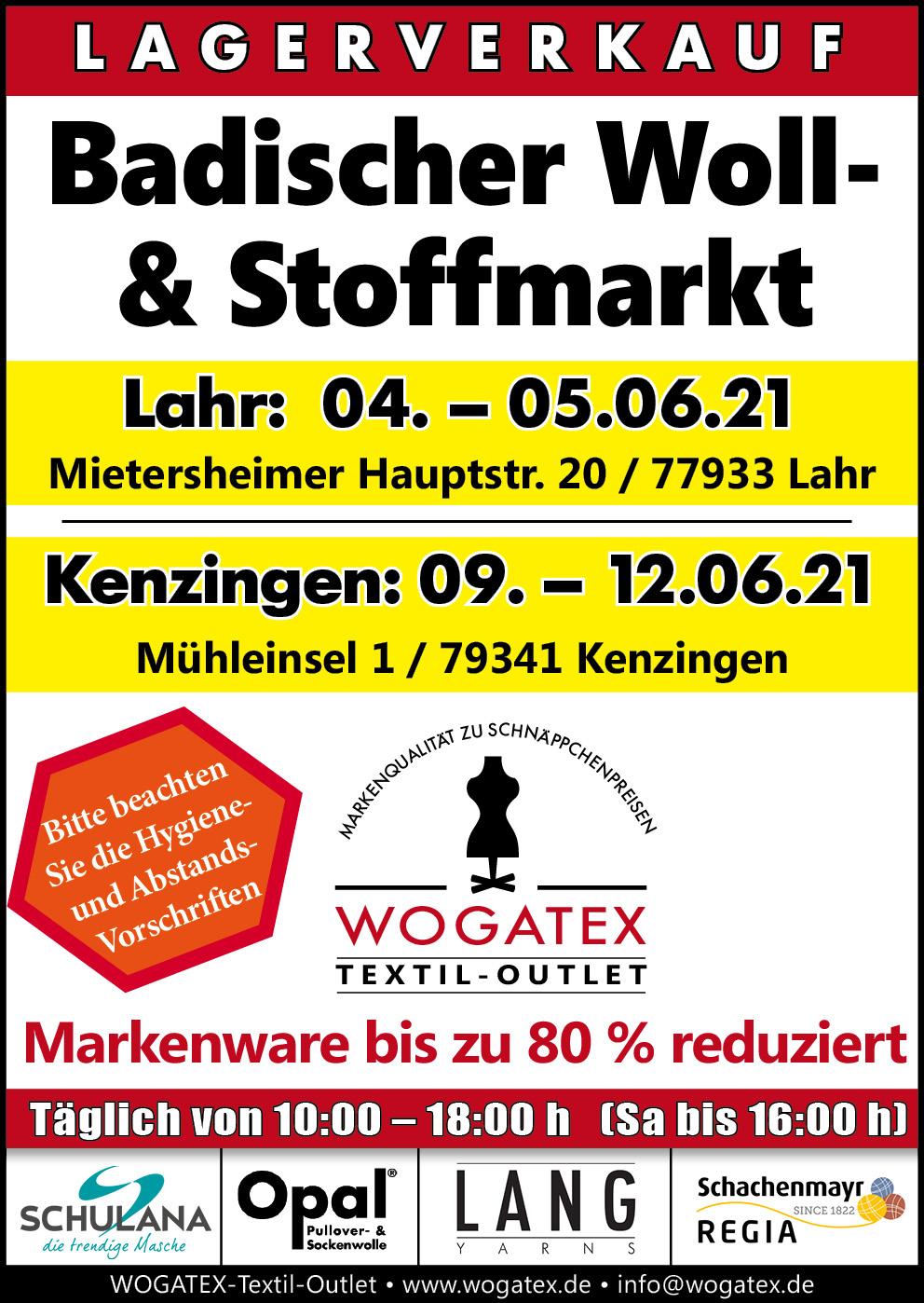 Badischer Woll- und Stoffmarkt